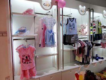 欧式儿童服饰店面装修